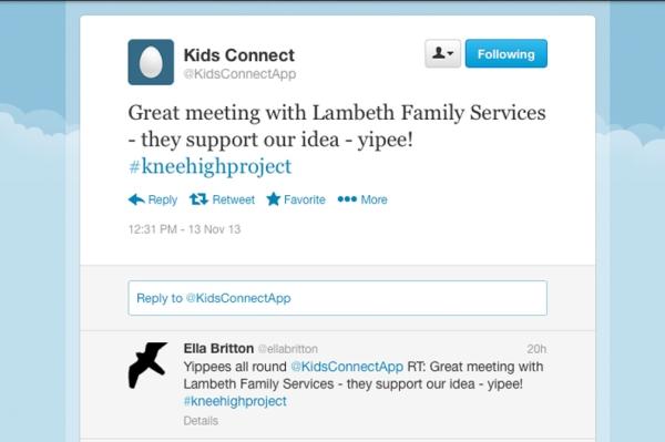 kids con tweet